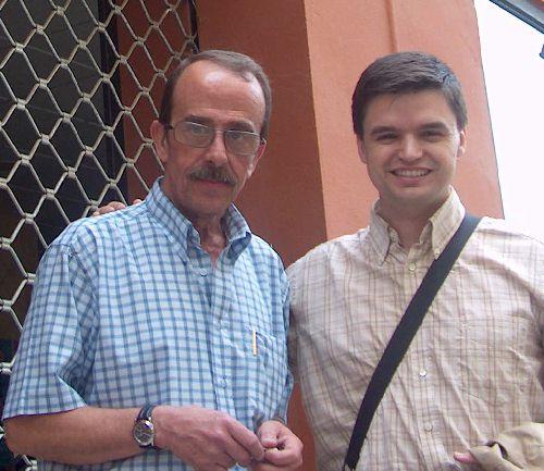 Con Paco Liso
