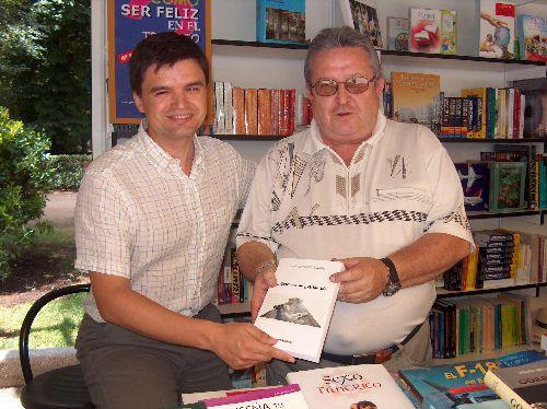 El autor con Carlos Martín