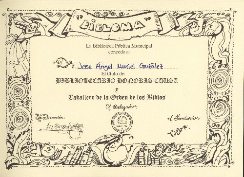 El diploma