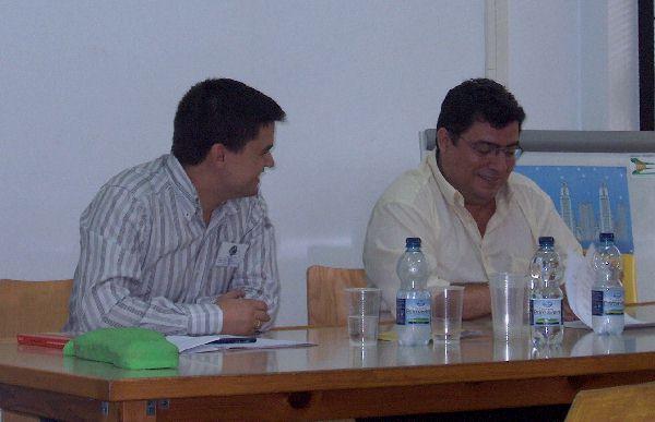 Con Rafael Marín