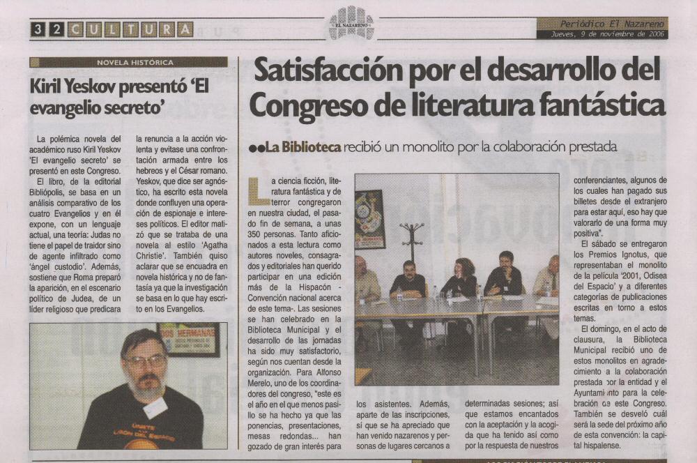 Periódico El Nazareno